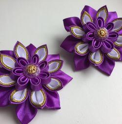 Elastik bantta çiçek