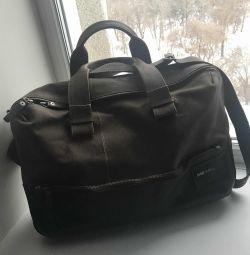 Bag Diesel, cu un departament pentru un laptop 15