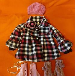 Elegant children's coat for 104 rub.