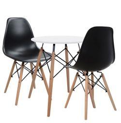 SET 3TM F60 TABLE & CHAIRS TWIST HM10307