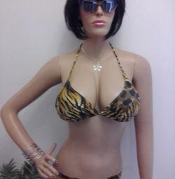 Swimsuit stylish tiger pattern .New