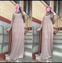 Rochie șal cusută