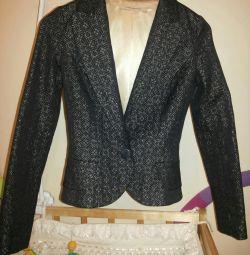Tasarımcının ceketi, ceket Sultanna Frantsuzova,