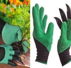 GLOVES WITH CLAWS FOR GARDEN AND CENTER