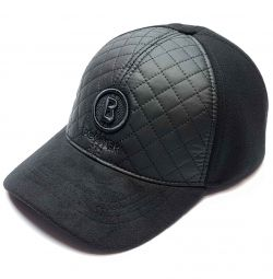 Bogner winter baseball cap (black) combi