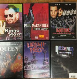 Музыкальные DVD