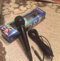 Karaoke microphone new