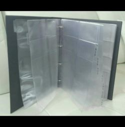 Business card holder for 400 pieces.