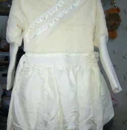 Платье утеплeнное