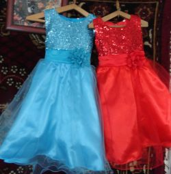 Elegant dresses from 7 to 14 years