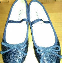 Zara Kids pantofi de balet