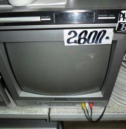 Телевізор робочий з пультом.