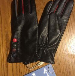 Mănuși noua dimensiune piele autentică 6.5