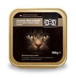 Влажный корм X-Cat для кошек и котят