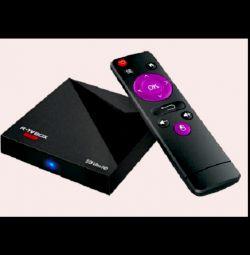 Smart TV приставка A5X PLUS mini
