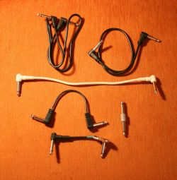 Guitar patches for pedals mini cables