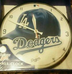 Νέα Ρολόγια Τοίχου από ΗΠΑ LA Dodgers