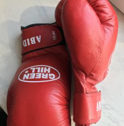 mănuși de box noi deal verde