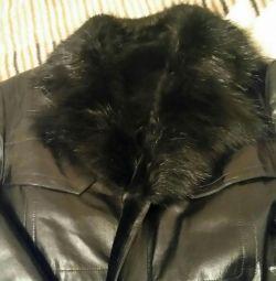 Χειμερινό σακάκι από δέρμα