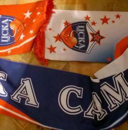Collection scarf Basketball CSKA Samara