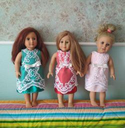 Нарядные платья для кукол