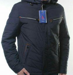 Jacket for men (50 grams of sintepon)