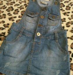 Children's overalls jeans