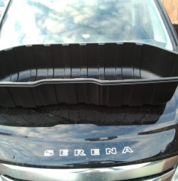 Selling bath in the trunk at the Nissan Serena (C25-C26)