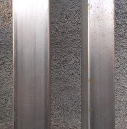 Paslanmaz çelik profil boru 80 * 120