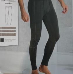 Thermal underwear (trousers) German new men's