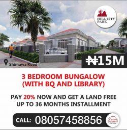 Hill City Park Estate, Shimawa Road, Лагос