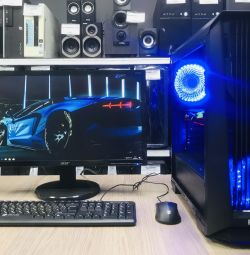 Gaming I3-8100 / DDR4 8Gb / SSD 240 Gb