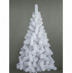 White Christmas tree 240 cm