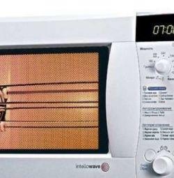Cuptor cu microunde + grătar + convecție LG 30l