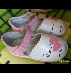 Sandale noi, branț de 15 cm