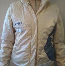Теплая куртка р44