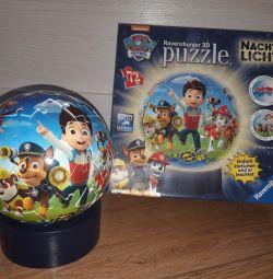 3D Puzzle-lamp Paw Patrol