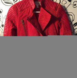 Куртка (косуха) замшева манго 40-42 р-р