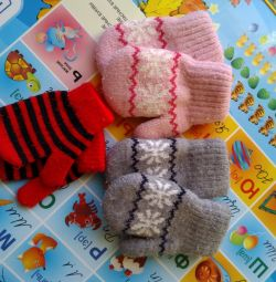Mittens for the girl