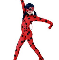 Carnival costume Miracolous Ladybug, LadyBug