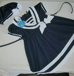 Dress with beretka new for 2g