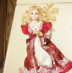 interior doll, on a stand