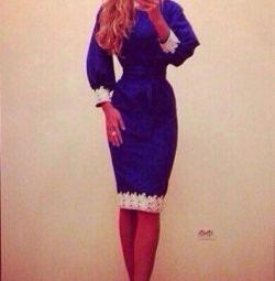 Νέο μπλε φόρεμα