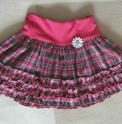 Νέα φούστα ύψους 92 - 104 cm.