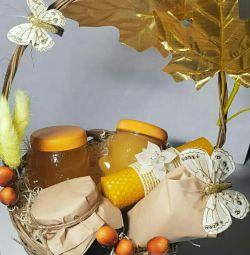 Set cadou cu miere