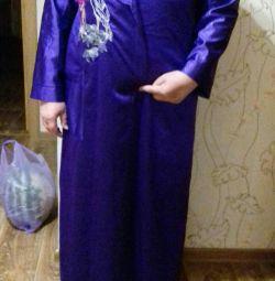 Lilac bathrobe