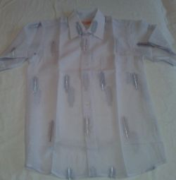 Ένα καινούριο πουκάμισο.