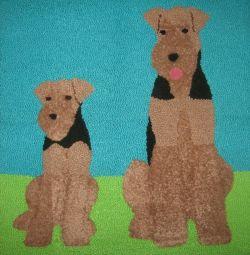 Covorase pentru câini Airedale Terrier Rasa