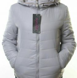 Female demi-season jacket (sintepon 100 gr.)