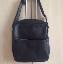 Men's black bag